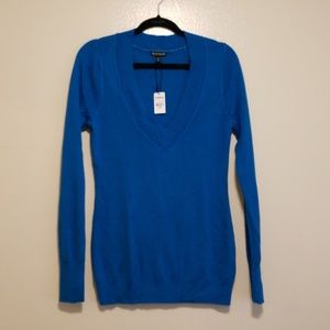 NWT EXPRESS bright blue sweater